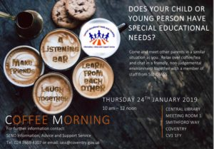 Coffe Morning - 24th January 2019